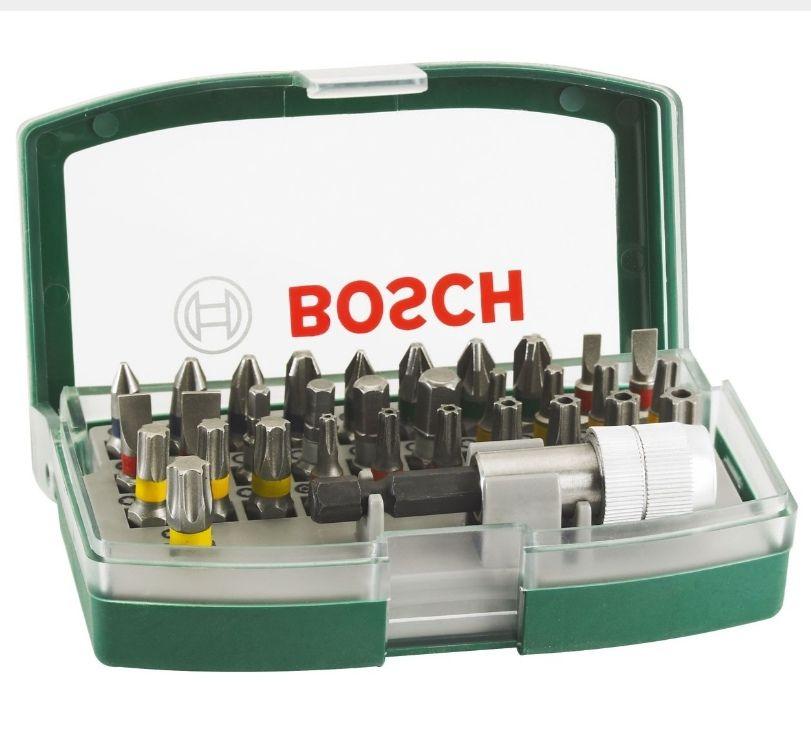 Bosch 32 Piece Screwdriver Bit Set £7.21 @ City Plumbing