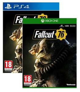 Fallout 76 Xbox One/PS4 Game for £7.99 Delivered @ 365Games