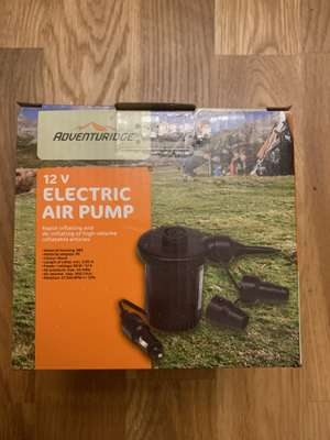 12v electric air pump - 99p at Aldi Tyne and Wear
