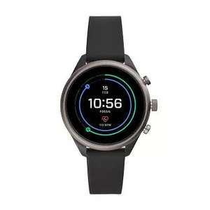 Fossil Sport Ladies' Black Silicone Strap Smartwatch £130 Delivered With Code @ H.Samuel