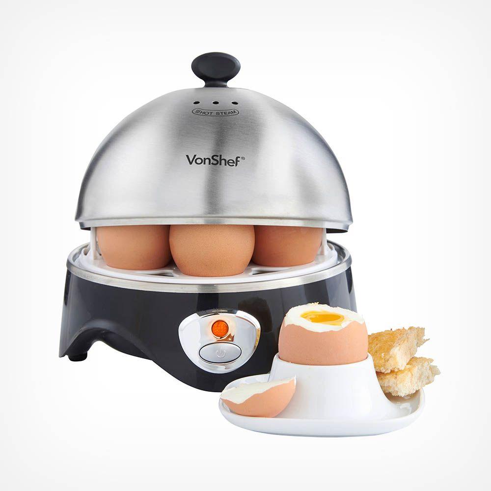 VonShef 7 Egg Boiler With Egg Poaching Bowl £9.74 Delivered at VonShef