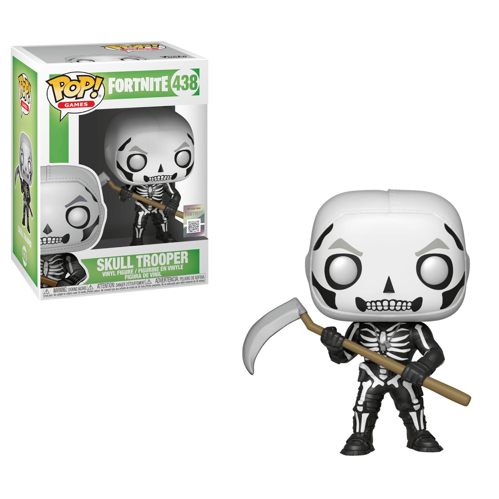 Fortnite Skull Trooper Pop! Vinyl Figure £3.99 @ Pop In A Box (£2.99 P&P)