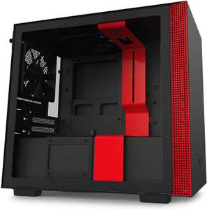 NZXT H210 - Mini-ITX PC Gaming Case - Front I/O USB Type-C Port - Tempered Glass Side Panel £59.99 at Amazon