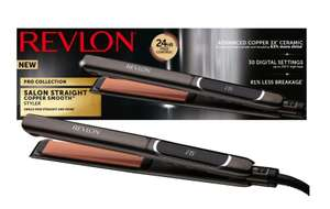 Revlon Salon Straight Copper Smooth™ Styler £36.50 with free click and collect @ Boots