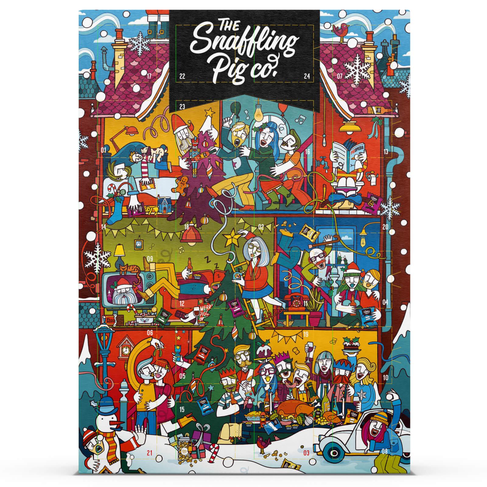The Snaffling Pig Pork Crackling Advent Calendar £12.99 Each or For £22.00 @ I Want One of Those