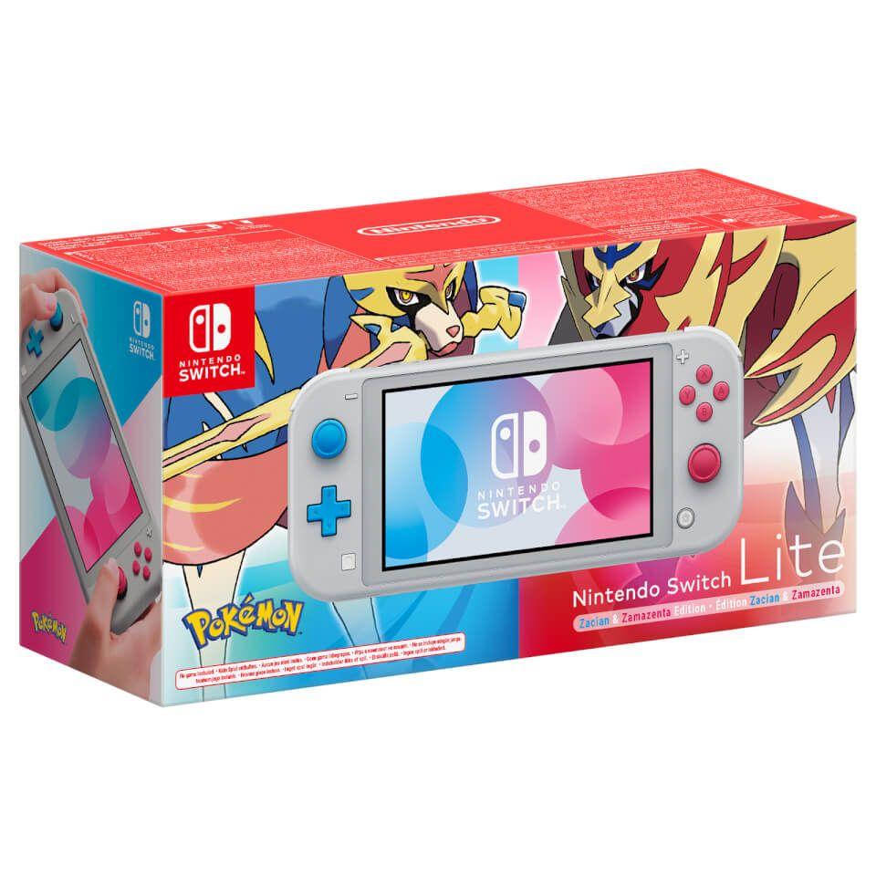 Switch Lite Zacian & Zamazenta Edition + 12 Months Online + Calendar £199 Possible (£179.99) @ Nintendo Store