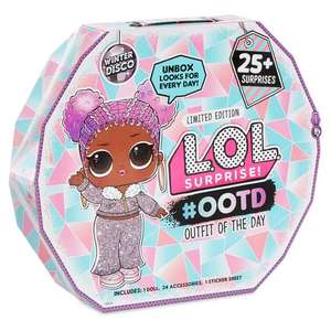 L.O.L Surprise! #OOTD (Outfit of the Day) Winter Disco Advent Calendar £24 @ Tesco