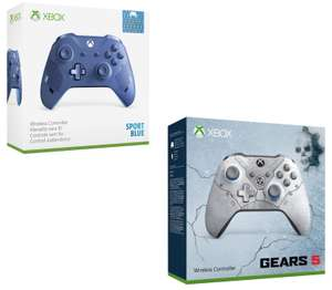 Xbox One Sport Blue Special Edition Controller £38.78 // Xbox One Limited Edition Kait Diaz (Gears5) Controller £43.29 @ Amazon France