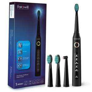 Fairywill Sonic Toothbrush, Electric Toothbrush £15.29 (+£4.49 Non Prime) Sold by MiTooEU and Fulfilled by Amazon