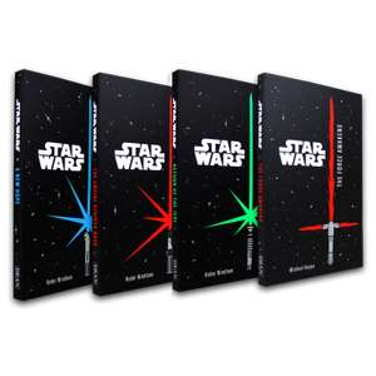 Star Wars 4 Books Set Junior Novel Collection by Lucas Films & Ryder Windham £3.50 @ Books2Door (£2.49 P&P)