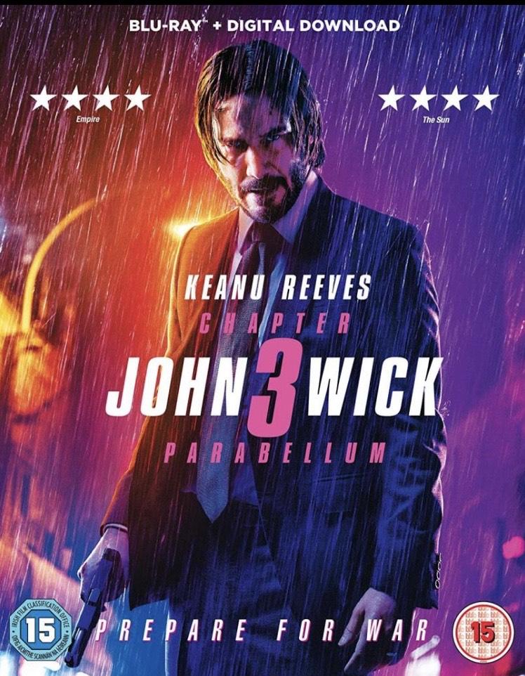 John Wick 3 Blu-ray £9.99 @ HMV