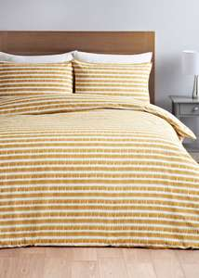 Stripe Duvet Cover - Double £5.60 @ Matalan