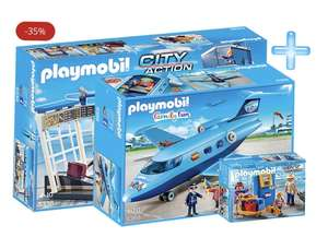 Playmobil toy bundles Airport / water park up to 35% off and free delivery @ Playmobil Shop