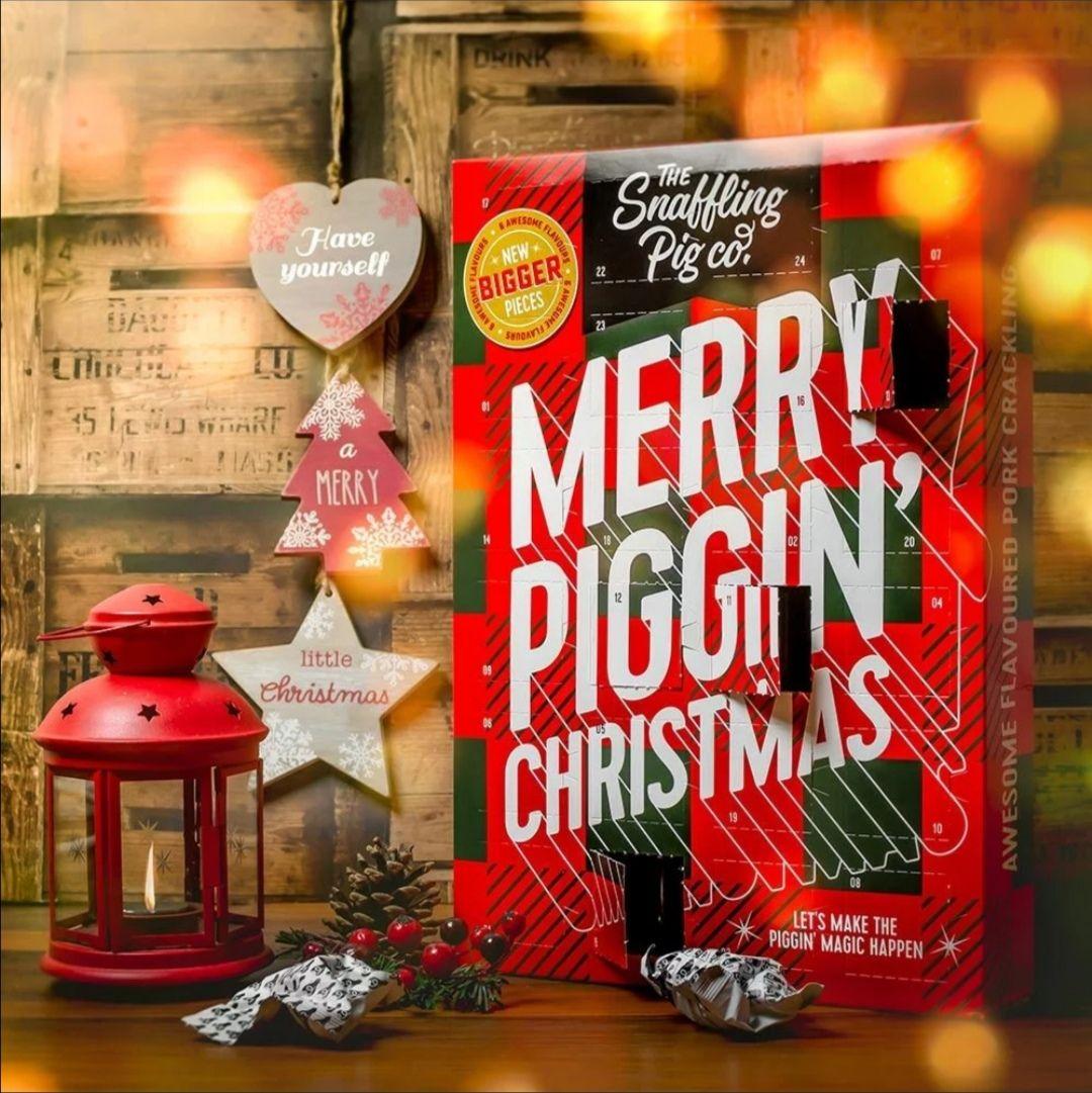 Snaffling Pig Advent Calendar £9 with discount code @ Menkind