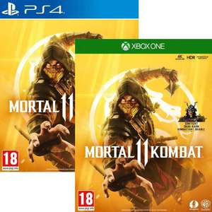 Mortal Kombat 11 PS4 / Xbox One for £16.95 delivered @ The Game Collection