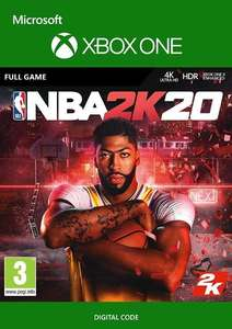 NBA 2K20 Xbox One Digital £19.99 @ CDKeys