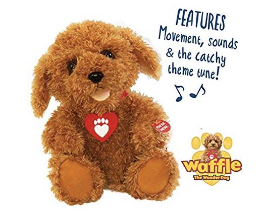 Waffle the Wonder Dog - Interactive Soft Toy £17.47 + £4.49 NP @ Amazon