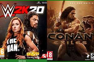 WWE 2K20 & Conan Exiles Free on Project X Cloud (Xbox)