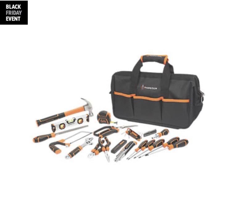 Magnusson tool kit 40 piece set £29.99 Screwfix