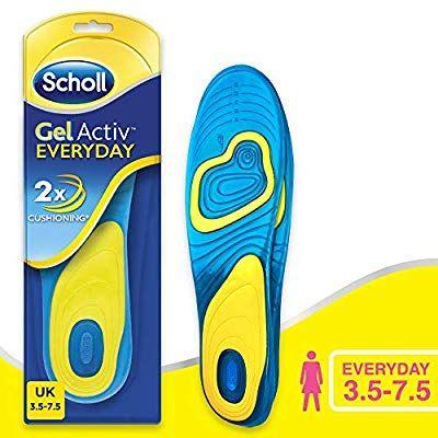 Scholl women's active everyday insoles @amazon £5.99 prime (+£3.99 non prime)