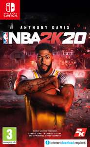 NBA 2K20 for the Nintendo Switch from Argos £26.99