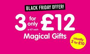 3 Gifts / Toys / Games for £12 at The Works (Free click and collect / Free Delivery with code)