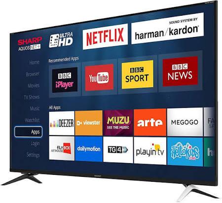 Sharp LC-60UI9362K 60 Inch 4K Ultra HD Smart LED TV £389.89 Costco
