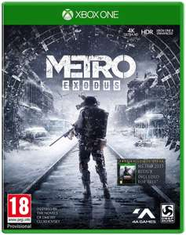 Metro: Exodus (Xbox One) - £11.99 @ John Lewis & Partners