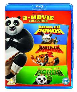 Kung Fu Panda: 3-Movie Collection Box Set on blu-ray £10.49 (Prime) / £13.48 (non Prime) at Amazon
