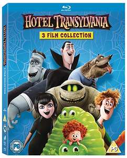 Hotel Transylvania 1-3 Blu-ray (+Digital copies) Box Set £6.99 (Prime) / £9.98 (non Prime) at Amazon