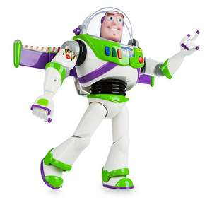 Toy Story 4 - Disney Store Buzz Lightyear Interactive Talking Action Figure at Shop Disney for £22 (£2.95 C&C / £3.95 delivery)