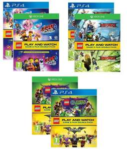 Lego Double Pack [PS4/XBOX ONE + BLURAY ] Ninjago/Lego Movie 2/ DC Supervillains for ££16.95 Delivered @ The Game Collection