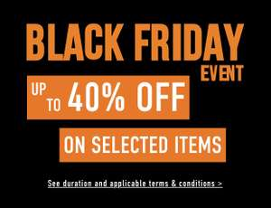 Timberland Black Friday Event - Up to 40% off on selected items (plus 10% discount code)