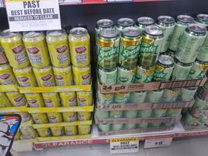 Sprite can 19p 330ml and sherbet Lemon 15p @ Poundstretcher Blackburn
