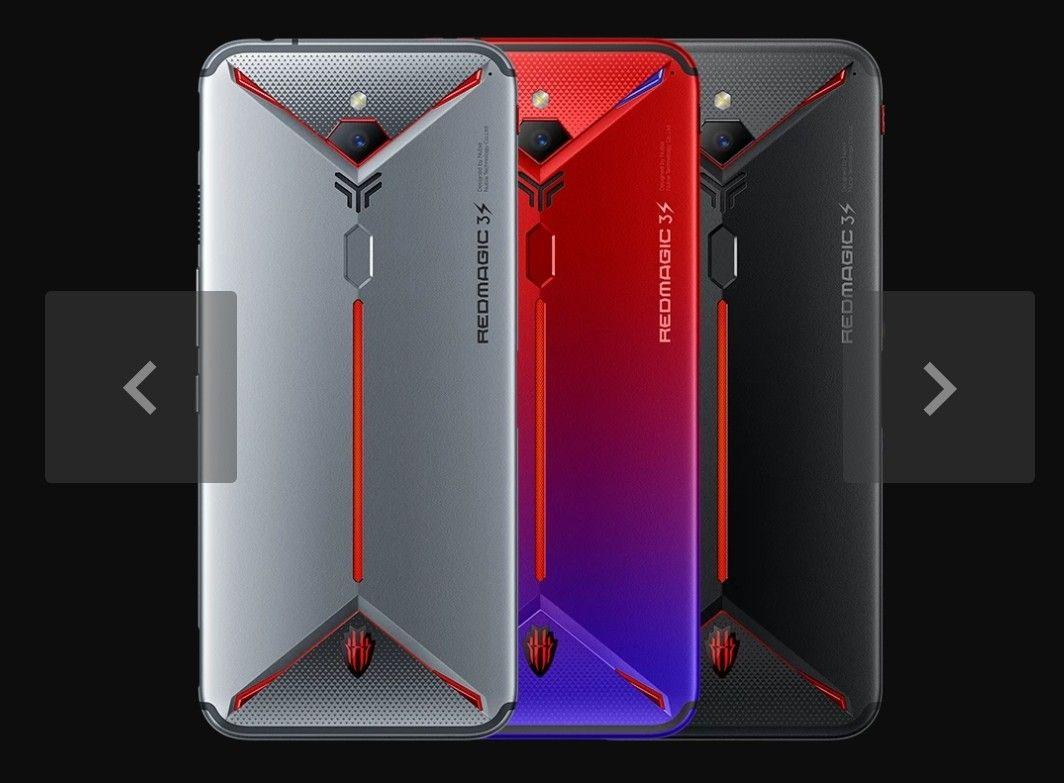 Nubia Red Magic 3S 4G Snapdragon 855 128GB/8GB 90hz RR 5000mAh £384.65 GearBest