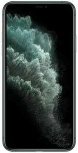 Iphone 11 pro max - £410 up front with code, 60gb data - £33 pm on Vodafone/mobiles.co.uk via Uswitch (Term - £1202)