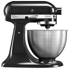 KitchenAid 4.3L Classic Stand Mixer in black with three tools for £249.99 delivered (using code) @ Robert Dyas