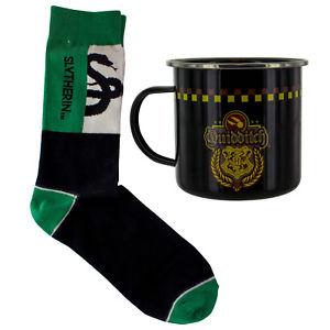 Harry Potter Slytherin Quidditch Tin Mug And Socks Set £4.50 at ebay Sold by Paladone