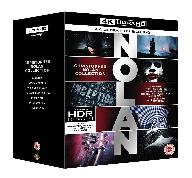 Nolan 4k Collection - £56.99 @ Amazon