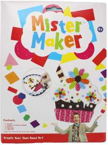 Mister Maker Create Your Own Cupcake Bead Art Kids Craft Kit Activity £1.39 (+£4.49 np) Sold by Xtras Online and Fulfilled by Amazon.