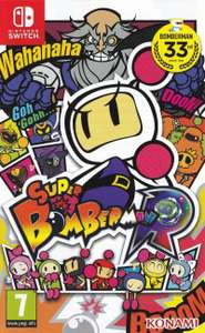 Super Bomberman R (Nintendo Switch) - £16.99 at Base