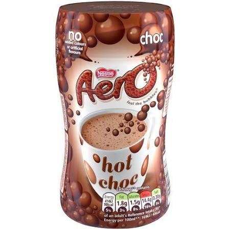 Aero Instant Hot Chocolate 288g £1.50 at Asda