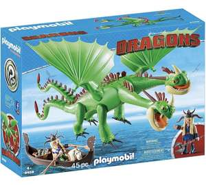 Playmobil 9458 Dragons Ruffnut and Tuffnut with Barf and Belch £35.99 Amazon