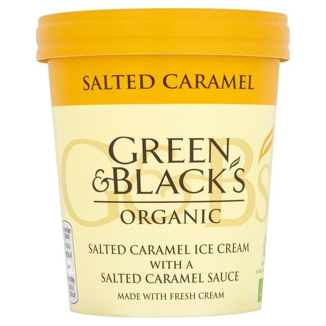 Green & Black's Organic Salted Caramel Ice Cream 500ml £2.10 @ Morrison's