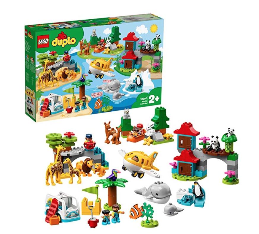LEGO 10907 DUPLO Town World Animals Adventure £54.99 Amazon
