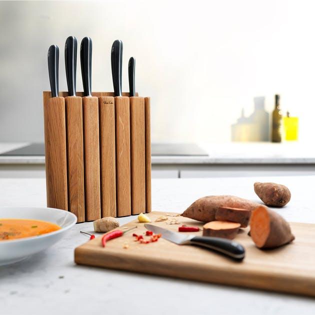 Signature Book Oak Knife Block Set - £250 delivered @ Robert Welch