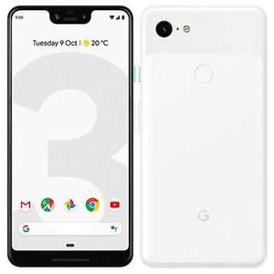 Google Pixel 3 XL 64GB Clearly White Unlocked Refurb Pristine Smartphone £359.99 @ Handtec