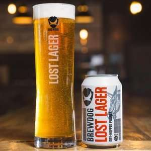 Free Pint of Brewdog Lost Lager @ O'Neills (and other venues)