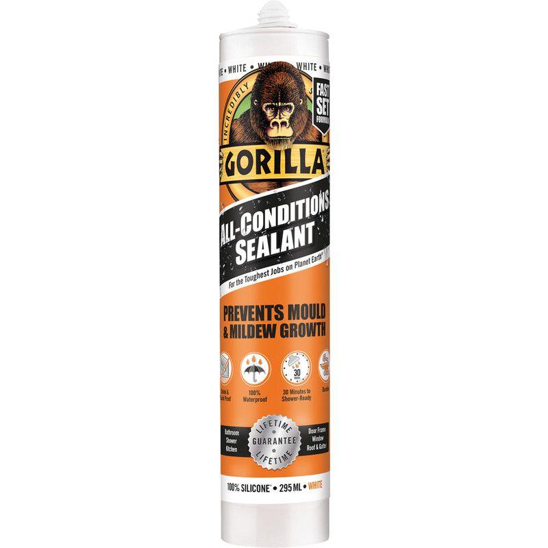 GORILLA Paintable Sealant White 265ml In Poundland Birmingham for £2