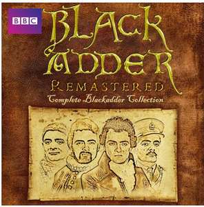 The Complete Black Adder Remastered £9.99 on iTunes